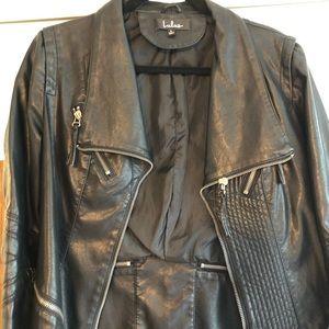 Lulu's Black Leather Jacket